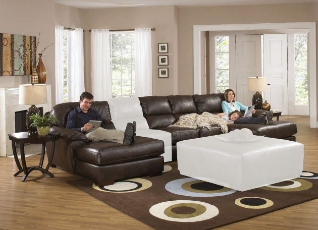 The Best Leather Sectional Sleeper Sofa With Chaise Photos jolenesart19