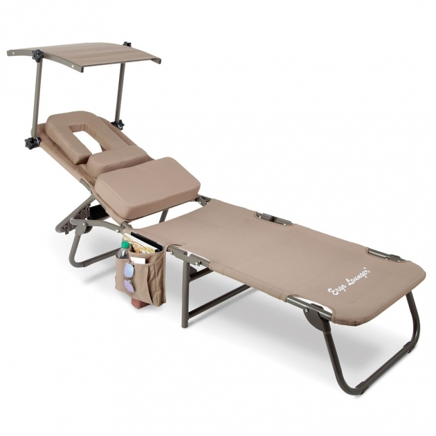 The Removable Shade Ergonomic Chaise Lounge Beach Chair With Sun Shade Images 44