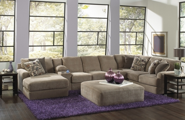 U Shaped Deep Sectional Sofa With Chaise For Your Living Room Photo 57