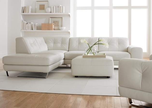 White Leather Sectional Sleeper Sofa With Chaise Microfiber L Shaped Picture jolenesart04