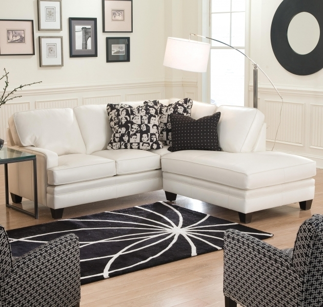 White Leather Sofa Small Sectional Sofa With Chaise Lounge Modern Ideas Images 54