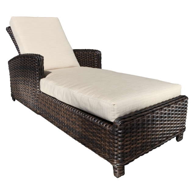 Wicker Chaise Lounge Patio  Furniture Family Decoration Photos 13