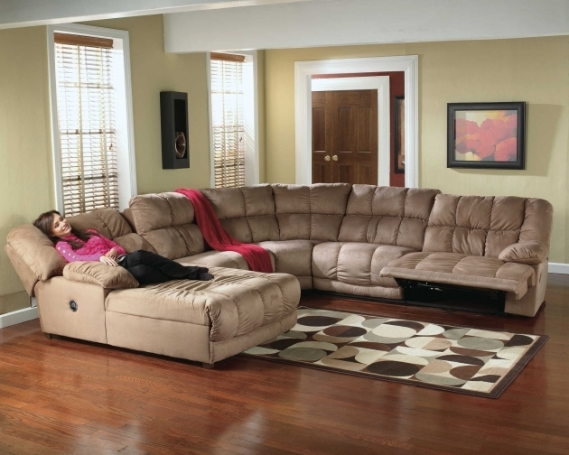 awesome sectional sofas with chaise | Awesome Sectional Sofa With Recliner And Chaise Lounge ...