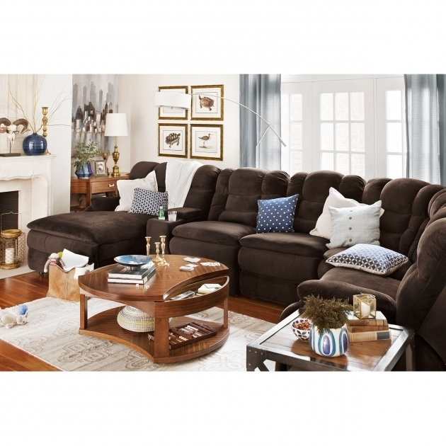 Big Softie 6 Piece Power Sectional Sofa With Recliner And Chaise Lounge Right Facing Picture 48