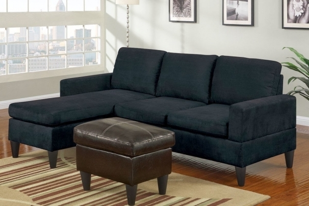 Black Leather Sectionals With Chaise Images 95