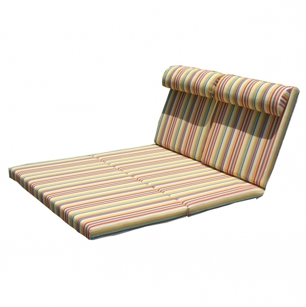 Chaise Lounge Pads Cushions Double Photos 90