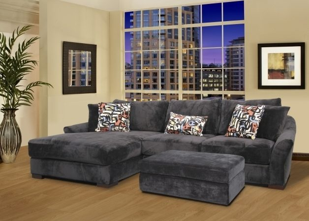 Chaise Lounge Sofa With Ottoman Gray Velvet Oversized Sectional Sleeper Sofa Rectangular Leather Image 54