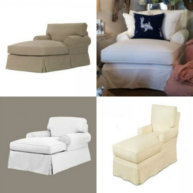 Coastal Chaise Lounge Slipcovers Design Picture 84