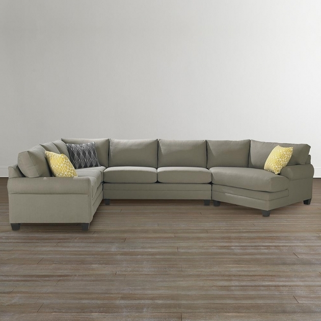 Cu2 Left Sectional Sofa With Cuddler Chaise Living Room Bassett Furniture Photo 32