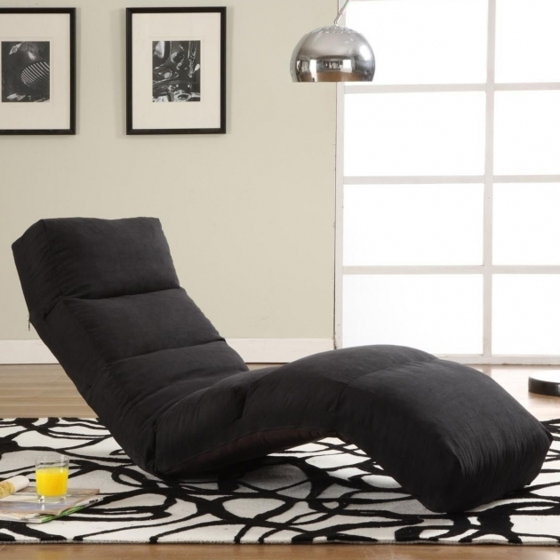 Curved Convertible Chaise Lounge Living Rooms Image 74