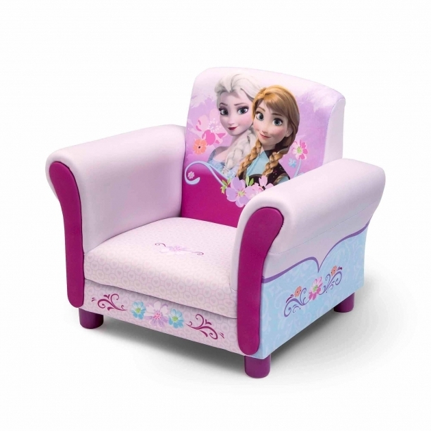 Disney Frozen Upholstered Children's Chaise Lounge Pictures 16