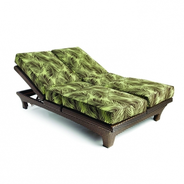 Double Chaise Lounge Cushions Replacement Living Rooms Image 23