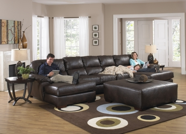 Double Sectional Sofa With Recliner And Chaise Lounge Picture 51