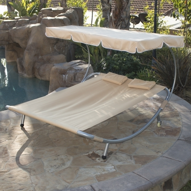 Double Wide Chaise Lounge New Hammock Bed Lounger Double Chair Pool Pictures 35