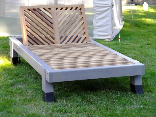Double Wide Chaise Lounge Wooden Outdoor Furniture Design Ideas Picture 51