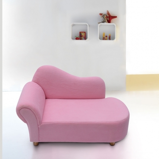 Homcom Velvet Children's Chaise Lounge Photo 09