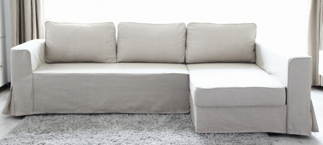 Ikea Manstad Sofa Bed Chaise Lounge Slipcovers Photo 47