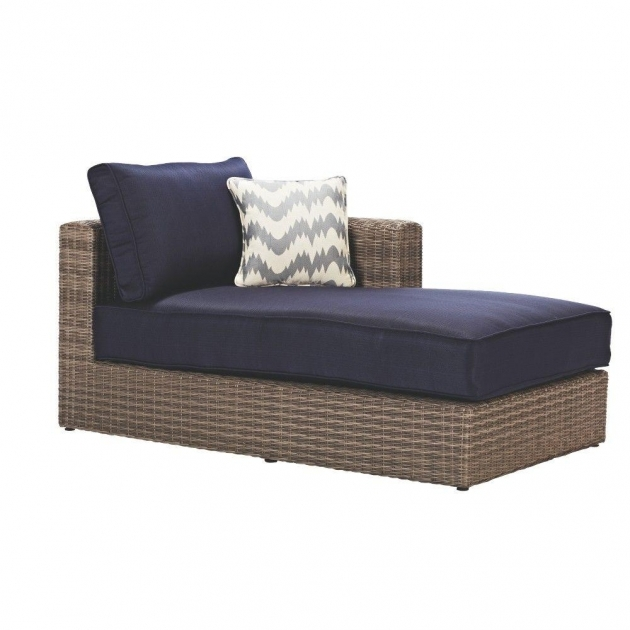 Left Arm Chaise Lounge Home Decor Collection Naples For All Weather Grey Wicker Patio Ideas Photos 14