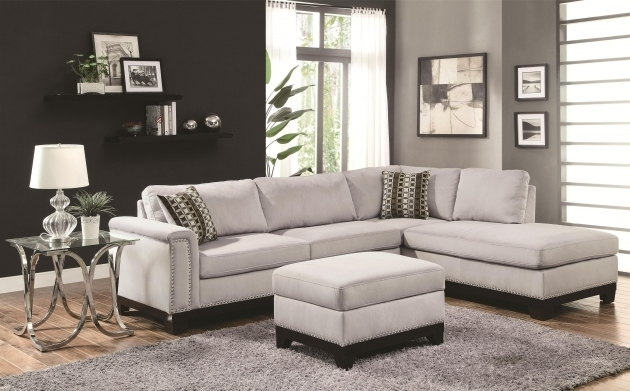 Modern Comfortable Sofa With Reversible Chaise Lounge Home Living Room Furniture Pictures 16
