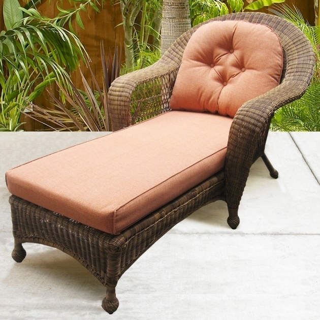North Cape Wicker Port Royal Outside Chaise Lounge Wicker Picture 11