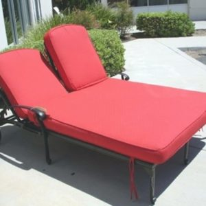 Double Chaise Lounge Cushions