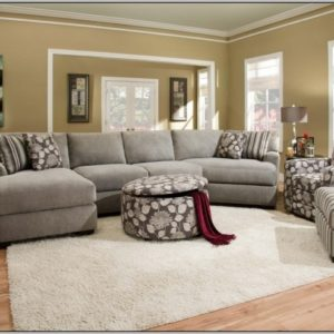 Sectional Sofa with Cuddler Chaise