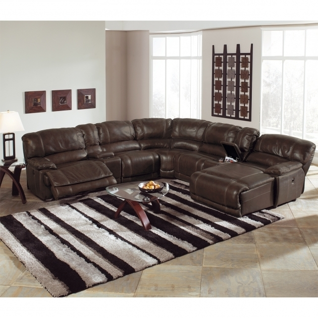 St Malo 6 Piece Power Reclining Sectional Sofa With Recliner And Chaise Lounge Pictures 88