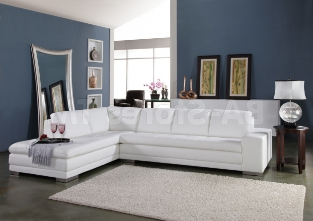 White Leather Sectional Sofa With Recliner And Chaise Lounge Pictures 57