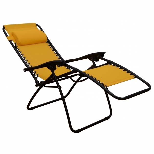 Zero Gravity Chaise Lounge Recliner Lounge Patio Pool Chair Gold Photos 40
