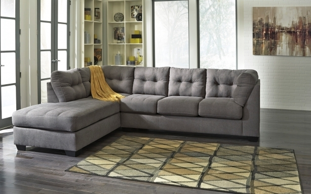 Ashley Furniture Sectional Sofa With Chaise Gray Photo 20