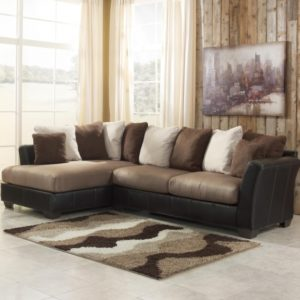 2 Piece Sectional Sofa with Chaise