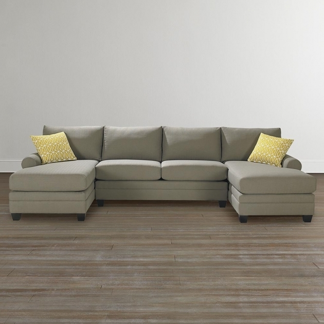 Contemporary Double Chaise Sectional Sofa 3850 CSECTU Image 22