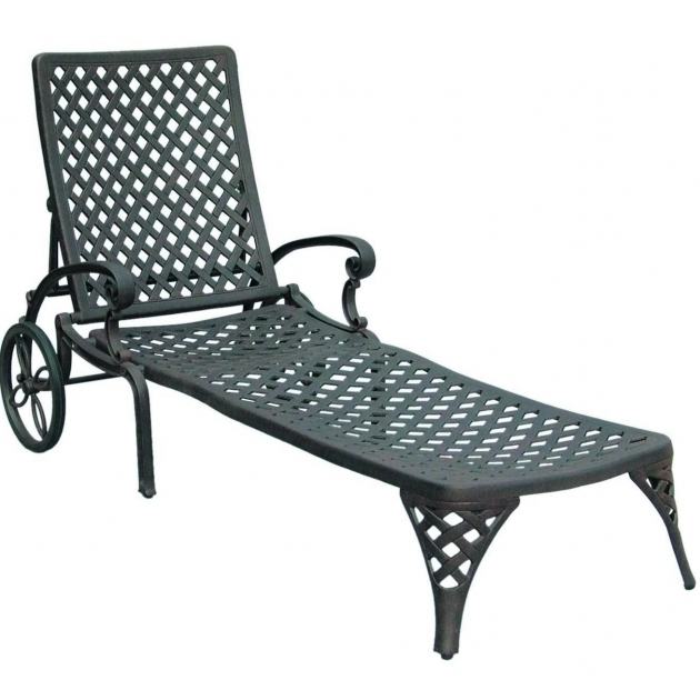 Darlee Nassau Cast Aluminum Patio Chaise Lounge Sale Pictures 85