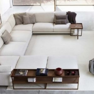 Deep Sofa with Chaise