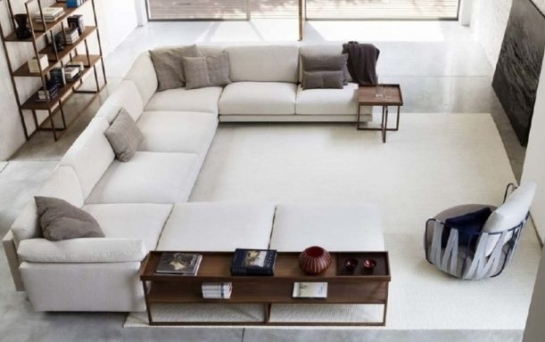 Deep Sofa With Chaise Sectional Sofas Images 56