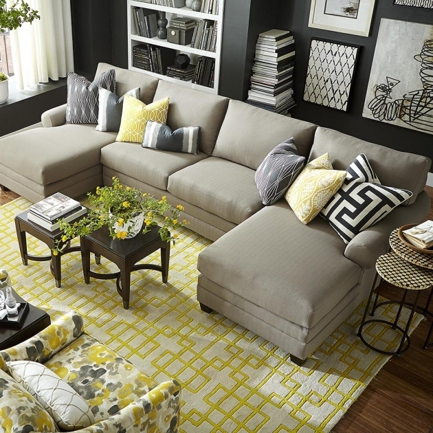 Double Chaise Sectional Sofa 3850 CSECTA CU2 Pictures 59