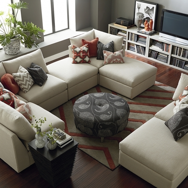 Double Chaise Sectional Sofa Living Room Ideas Picture 67