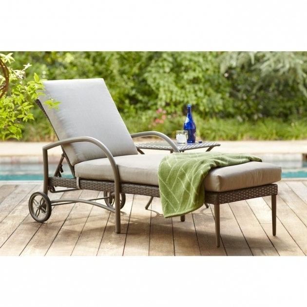 Hampton Bay Posada Patio Chaise Lounge Cushions On Sale With Gray Color Picture 59