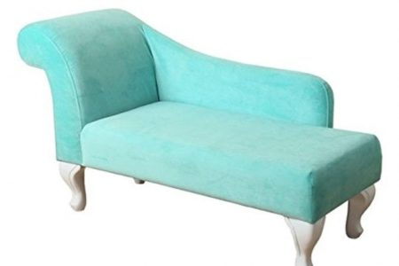 Turquoise Chaise Lounge