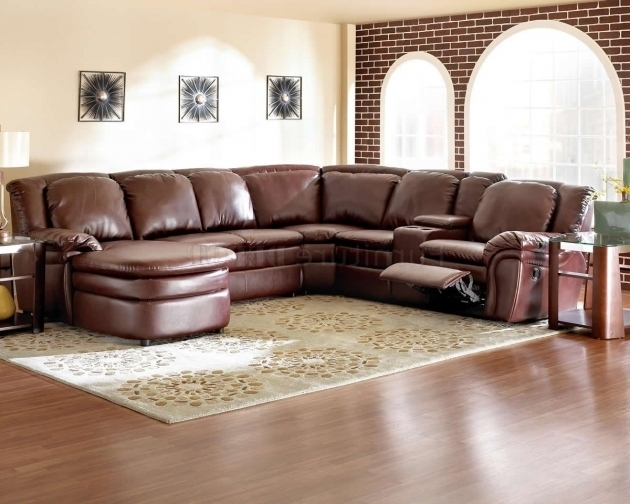 Leather Sectional With Chaise And Recliner Brown Ashley Home Design Picture 67