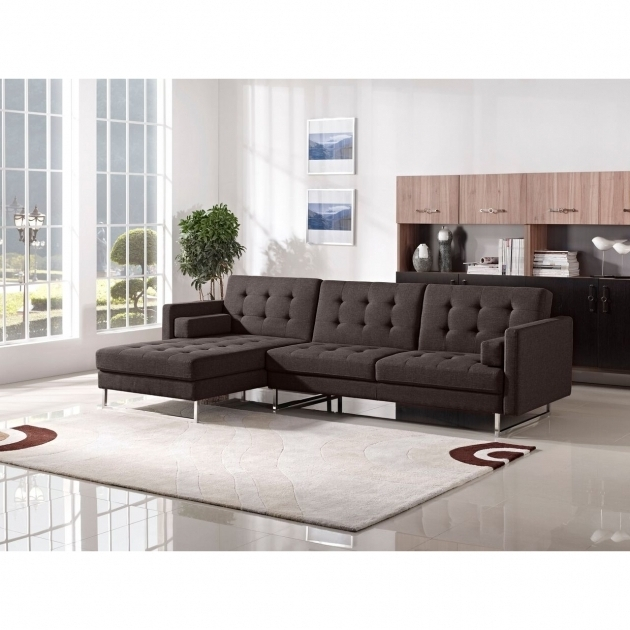 Modern Tufted Sectional Sofa With Chaise Metropolis Design Photo 36