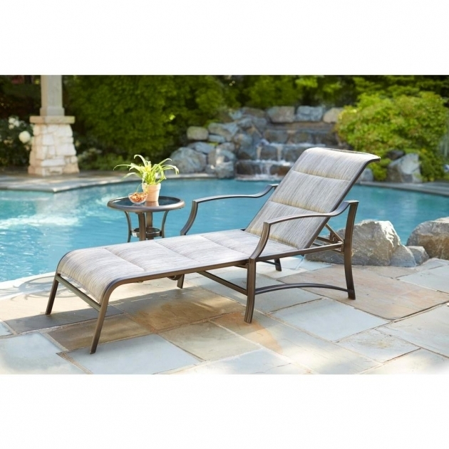 Contemporary outdoor chaise lounge clearance cushions with for Chaise cushions clearance