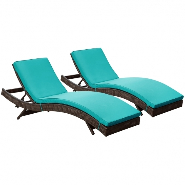 Outdoor Turquoise Chaise Lounge Pictures 19