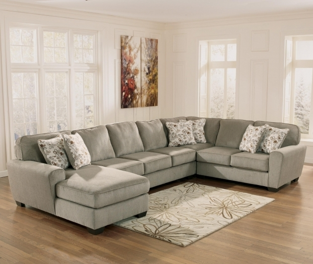 Patola Park Patina 4 Piece Ashley Furniture Sectional Sofa With Chaise Images 00