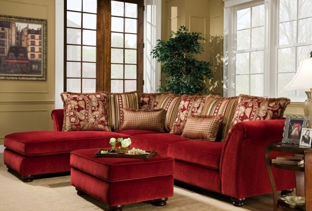 Red Sectional Sofa With Chaise Contemporary Ideas Photo 38