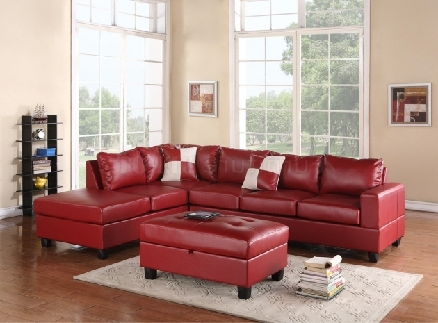 Red Sectional Sofa With Chaise Images 91