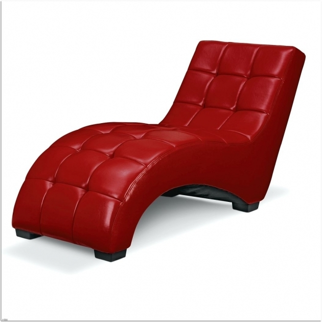 Red Small Chaise Lounge Chair Interior Design Images 72