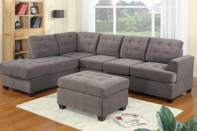 Acme 05915 Vogue Sage Reversible Microfiber Sectional Sofa With Chaise