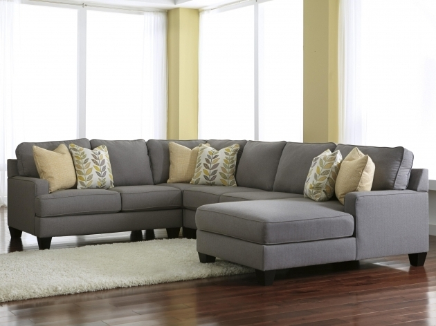 Ashley Chamberly Alloy Modern 4 Piece Sectional Sofa With Chaise Design Pictures 95
