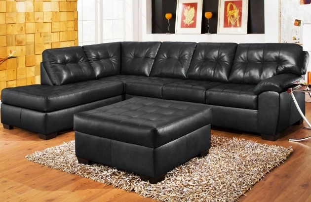 Black Leather Sectional With Chaise And Recliner Modern Ideas Photos 25